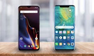 mejores móviles de gama alta de 2018