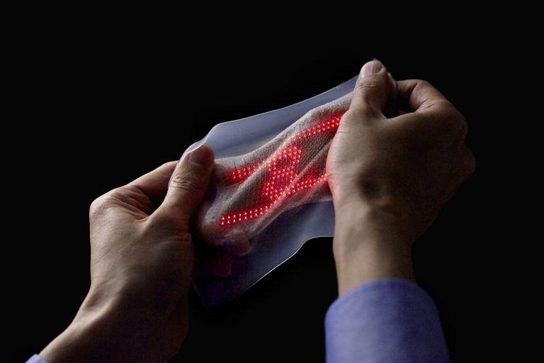 crean piel artificial