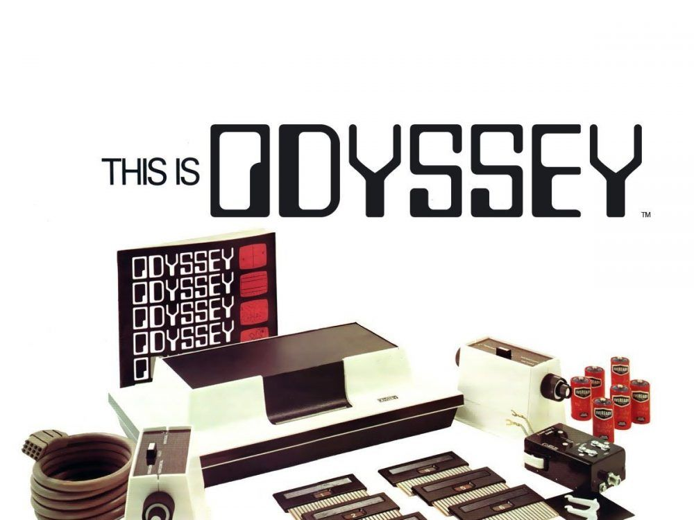 Primera consola de la historia Magnavox Odyssey