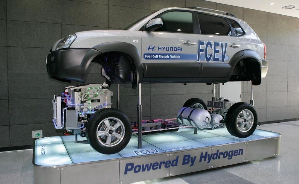 coche de hidrógeno