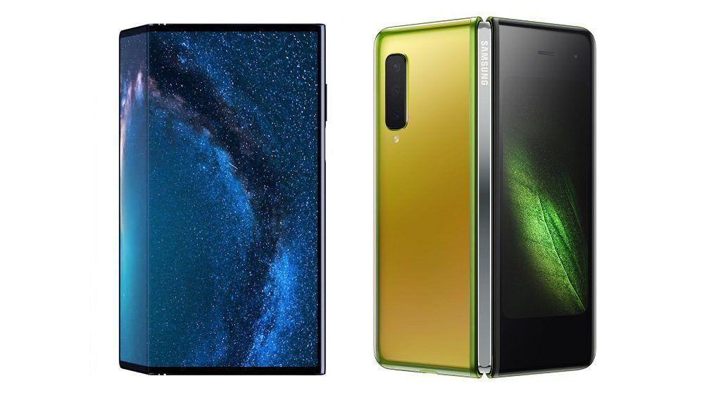 Huawei Mate X vs Samsung Galaxy Fold
