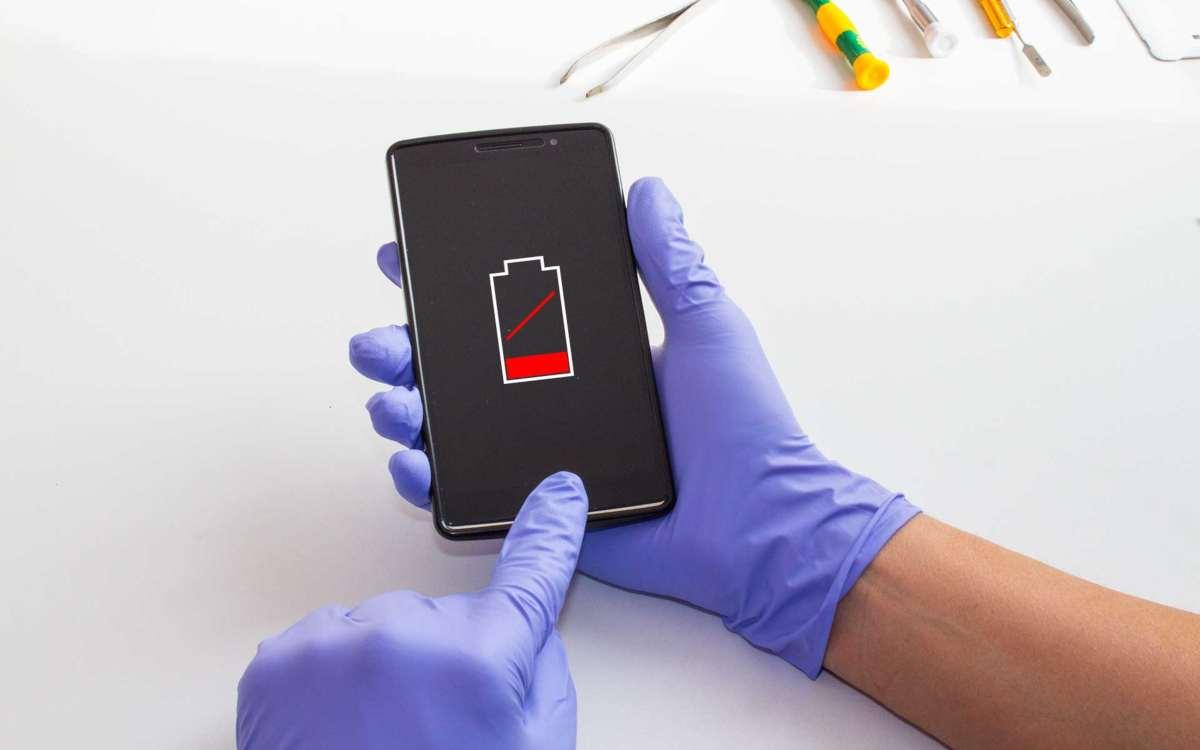 saber si la batería del móvil está dañada