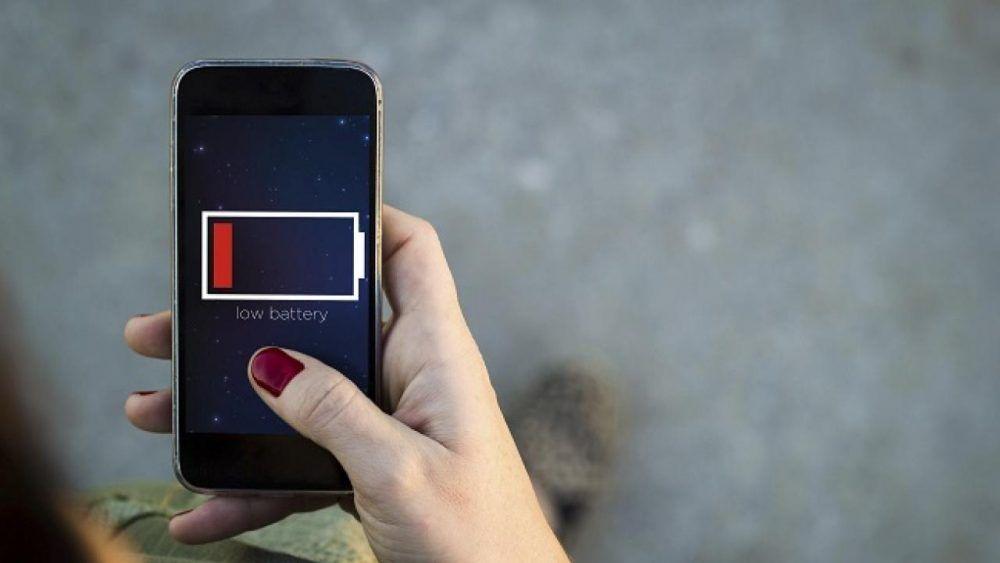 Batería del móvil dañada