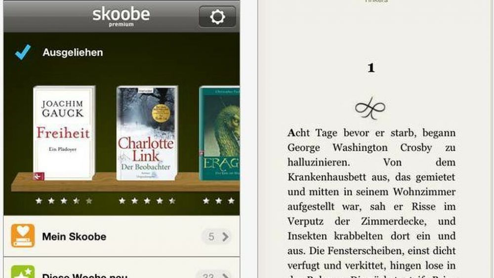 Plataforma de libro electrónicos Skoobe