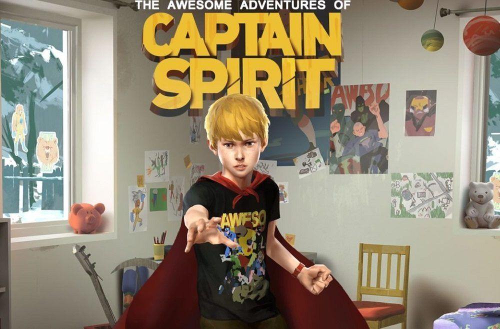 Las increíbles aventuras del capitán Spirit