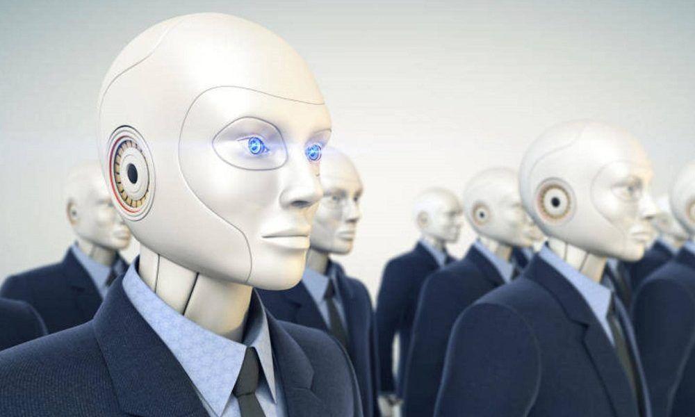trabajos hechos por robots