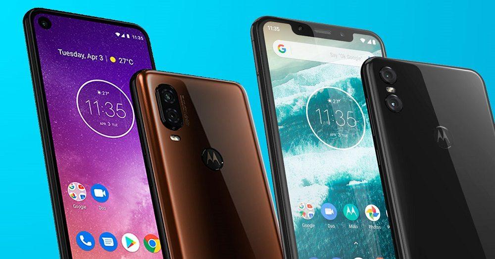 Motorola One Vision en dos colores