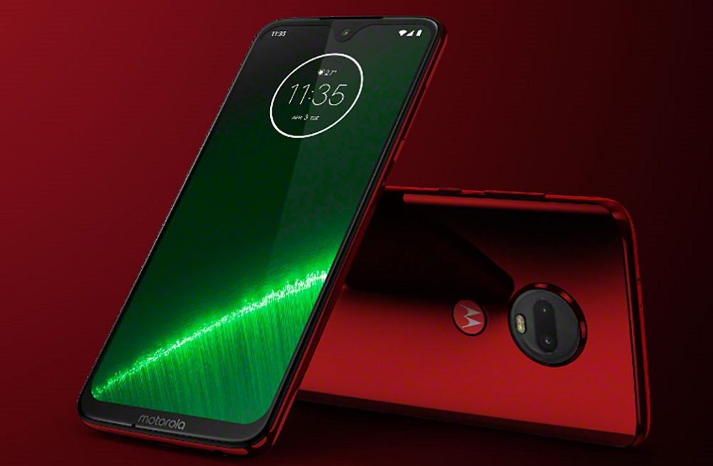 Motorola Moto G7 Plus diseño