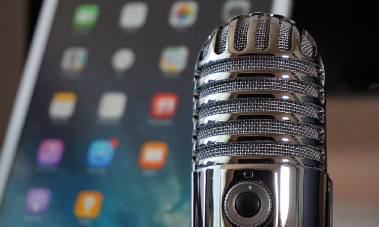 Micrófono para grabar podcast