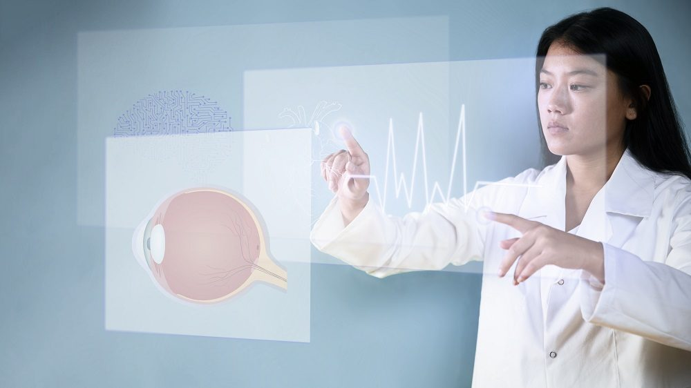 Uso de hologramas en medicina