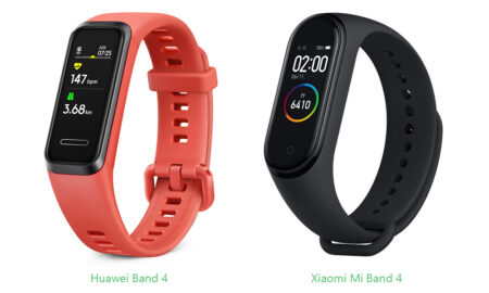 Huawei Band 4 vs Xiaomi Mi Band 4