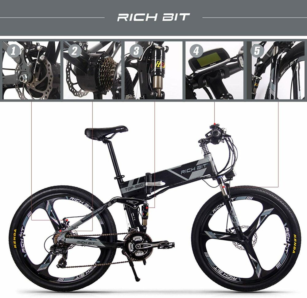 Rich Bit, bicicleta plegable eléctrica