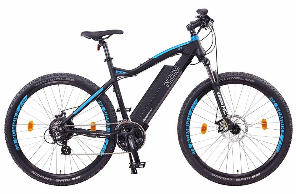 NCM Moscow una de las mejores bicicletas eléctricas de montaña por menos de 1500 euros