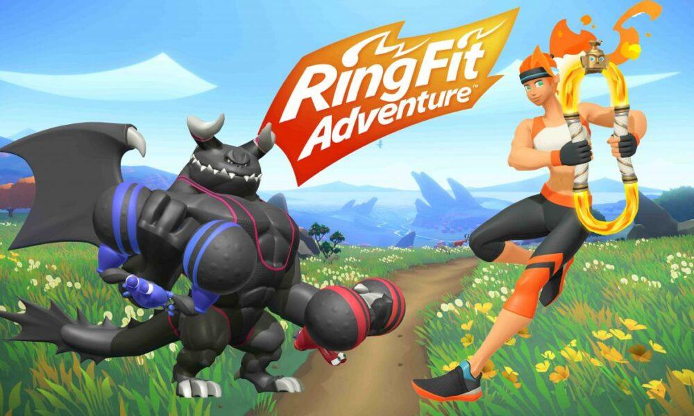 Ring fit adventure, el nuevo juego de Nintendo Switch