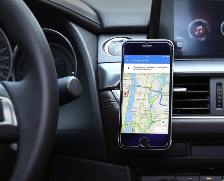 Tipos de soportes de coche para móviles