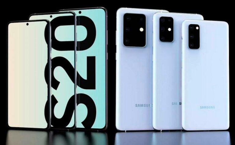 Los nuevos teléfonos Samsung Galaxy S20, S20+ y S20 Ultra