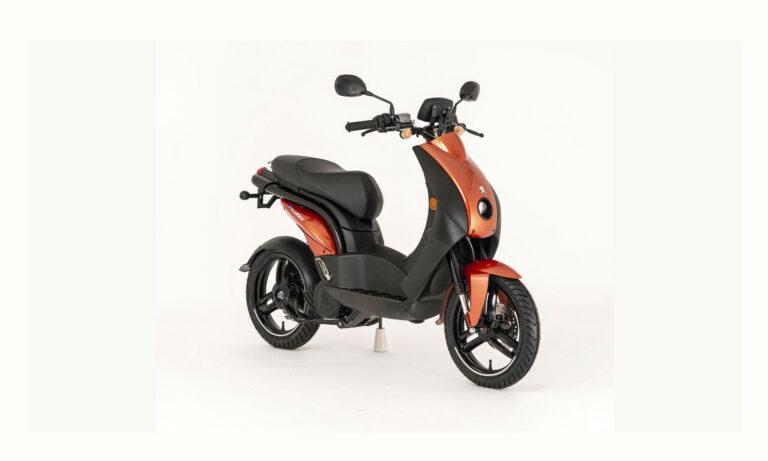 moto eléctrica Peugeot e-Ludix