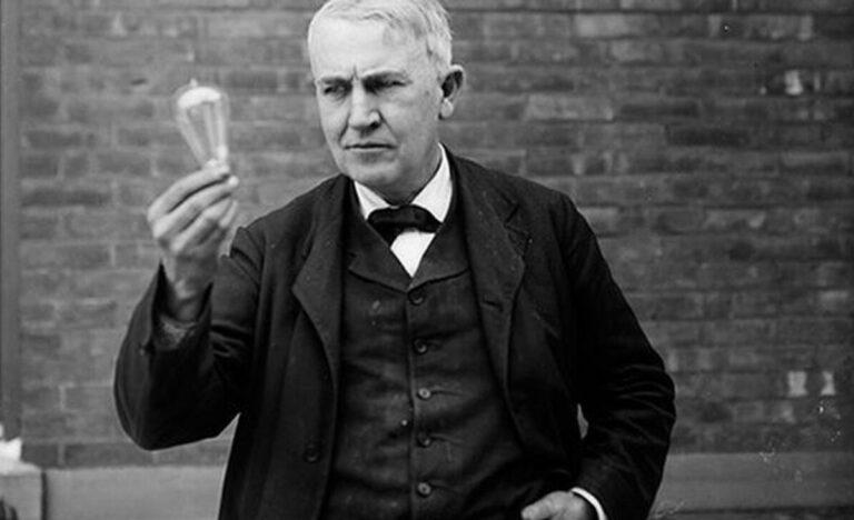 Edison, uno de los inventores más famosos de la historia